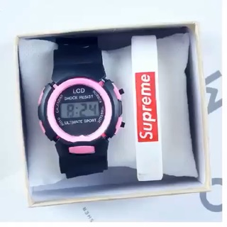 Đồng hồ thời trang trẻ em nam nữ điện tử thông minh Shock DH74