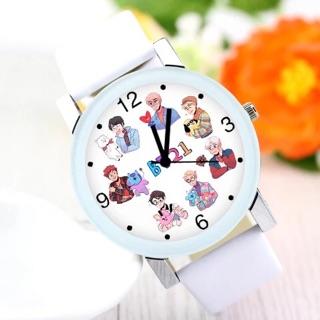 [SIÊU PHẨM] Đồng hồ BTS BT21 đeo tay nam nữ
