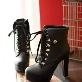 Order giày bốt bẻ cổ sang trọng 10cm hoặc 12cm thumbnail