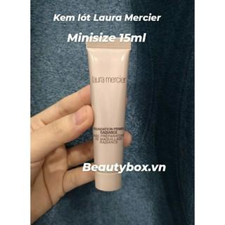 Kem lót - Laura Mercier Foundation Primer Radiance 15ml (tách set sephora không hộp) thumbnail