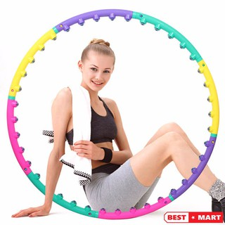Vòng lắc eo giảm mỡ thừa kết hợp massage HOOP BOYU-1108