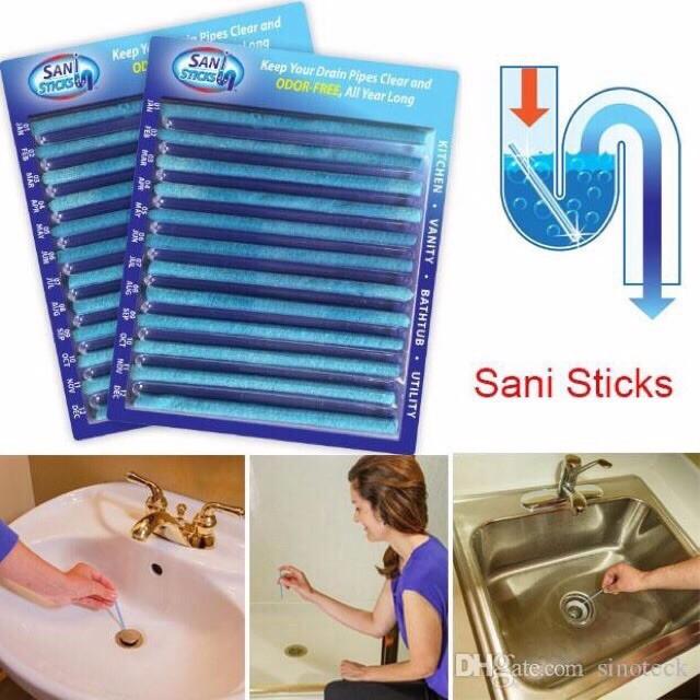 Que thông tắc, khử mùi cống Sani Sticks