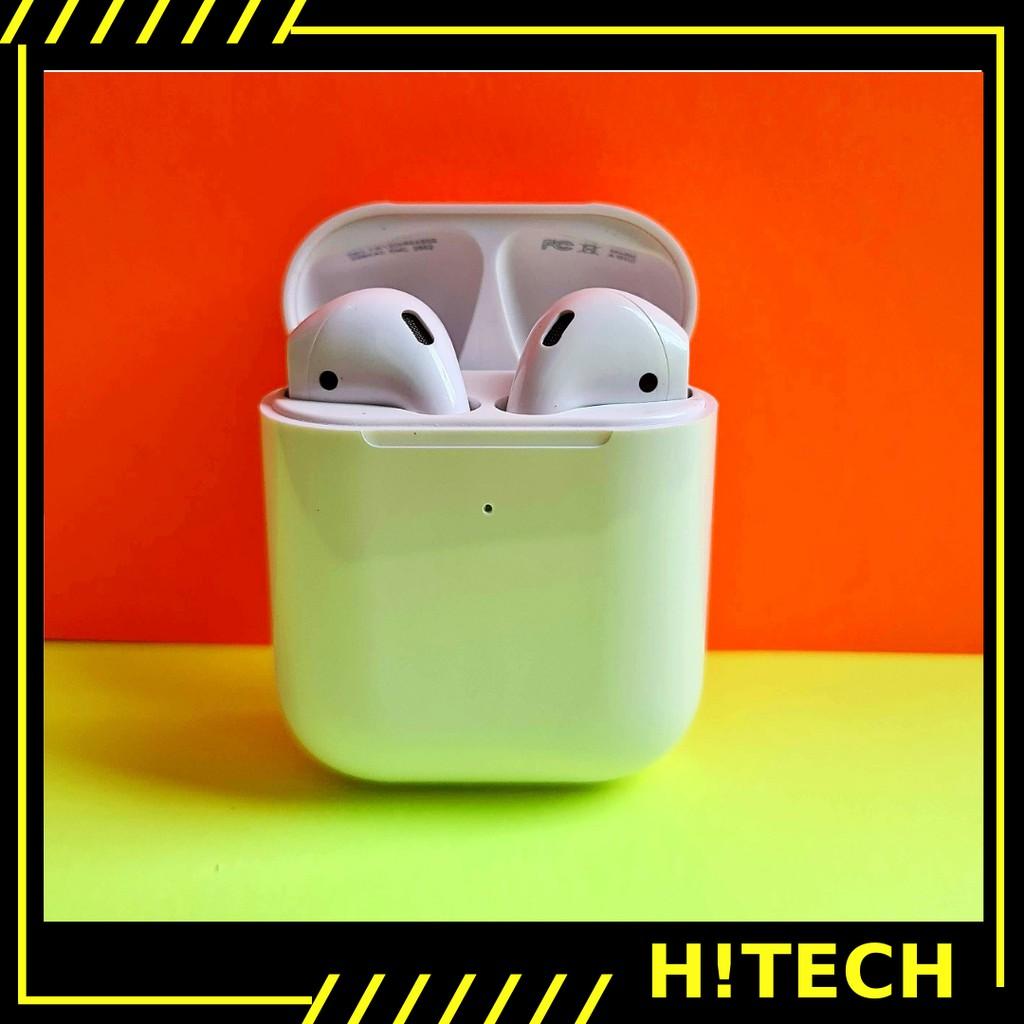 Tai nghe bluetooth  [ Hitech.net ] Tai nghe không dây nhét tai có mic có sạc không dây định vị đổi tên