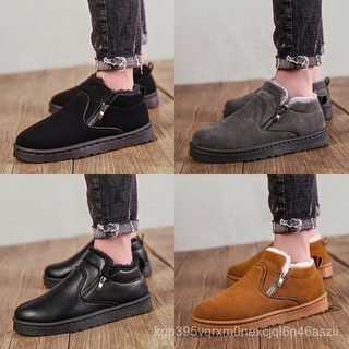 【Đính kèm video】Giày đế bằng tuyết Giày thể thao Giày đế mềm giày thể thao giày thể thao giày thể thao giày cao cổ giày