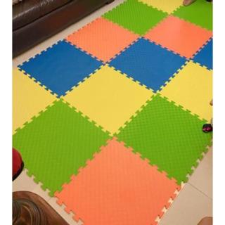Combo 12 miếng thảm lót sàn, xốp ghép lót sàn VN 60x60cm, thảm xốp lót sàn