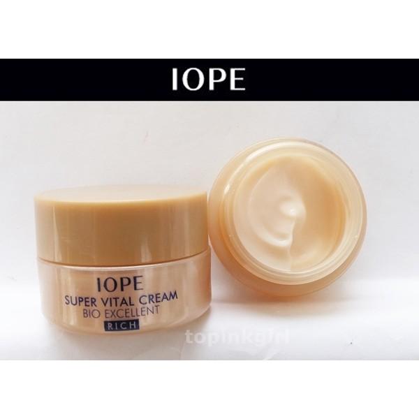Iope Super Vital Cream Bio Excellent Rich 7ml - 2456281 , 117400943 , 322_117400943 , 89000 , Iope-Super-Vital-Cream-Bio-Excellent-Rich-7ml-322_117400943 , shopee.vn , Iope Super Vital Cream Bio Excellent Rich 7ml