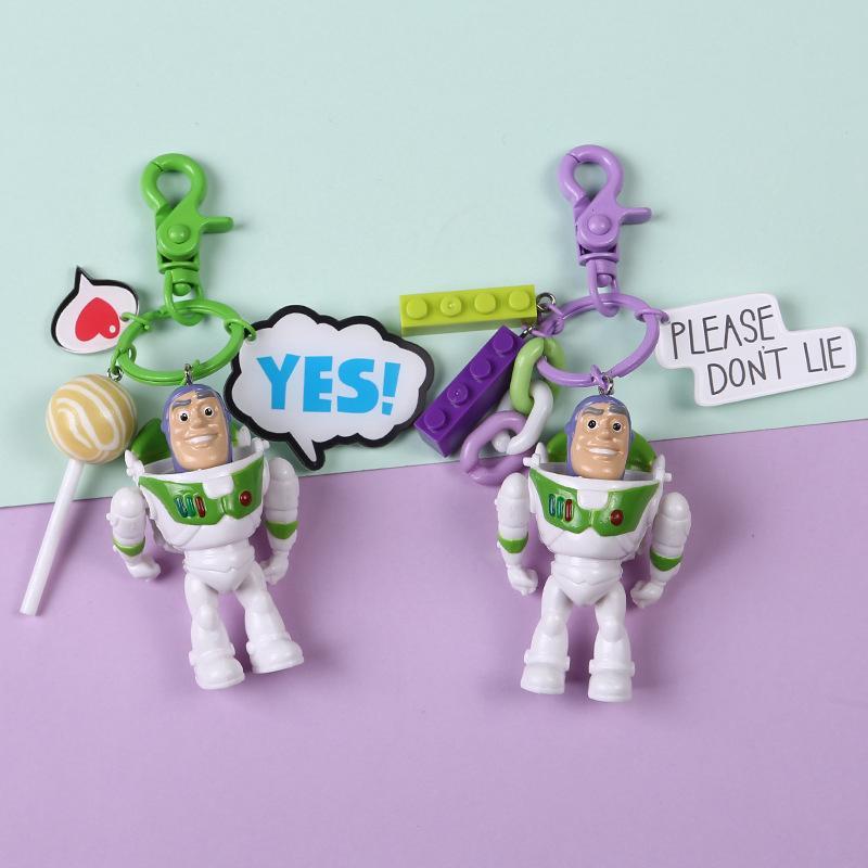 Móc Khóa Hình Nhân Vật Hoạt Hình Toy Story
