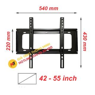 Giá treo tivi sát tường 42 - 55 inch