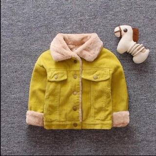 Áo khoác lót lông 2 màu