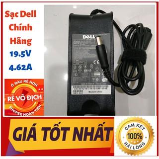 Sạc laptop Dell 19.5V – 4.62A – 90W đầu kim to CHÍNH HÃNG