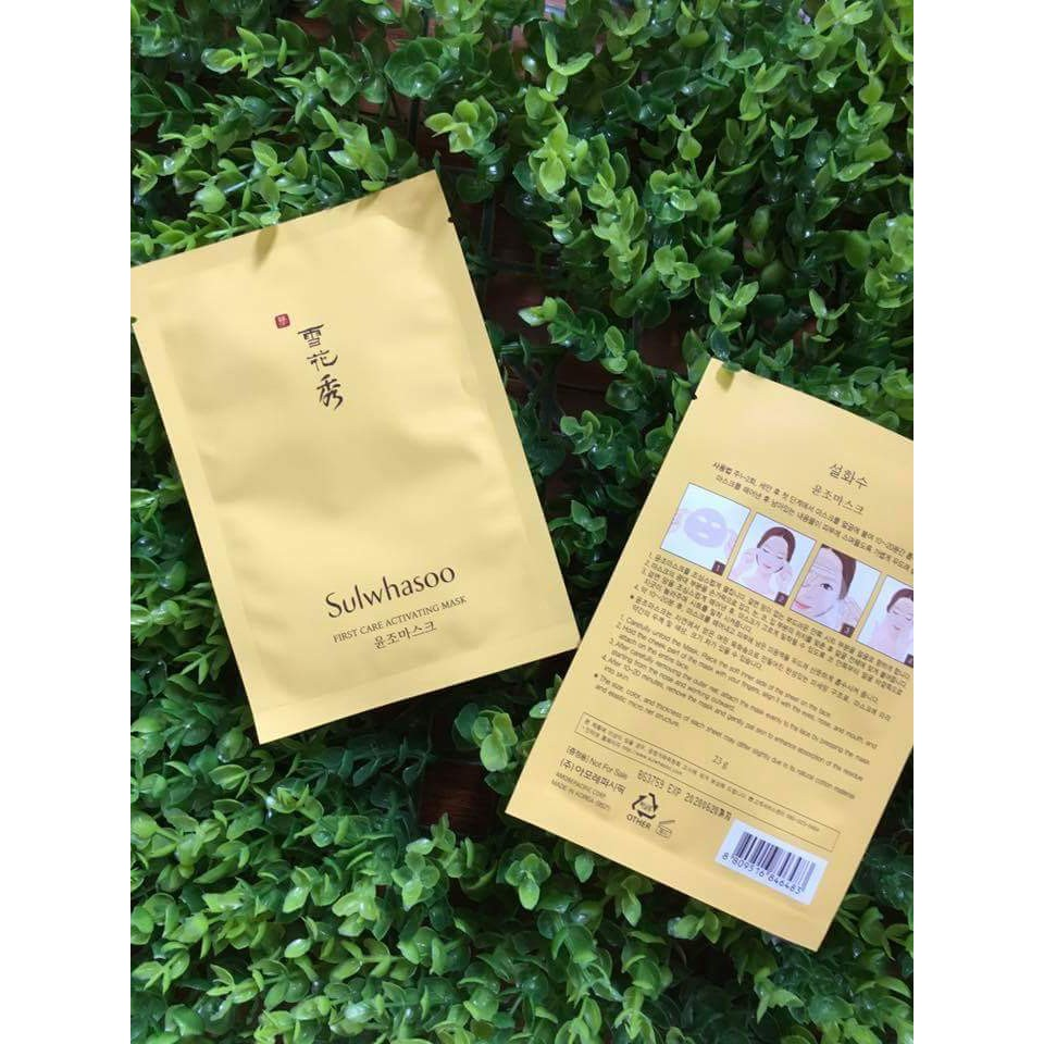 Mặt nạ Sulwhasoo First Care Activating Mask - 2600056 , 714499921 , 322_714499921 , 100000 , Mat-na-Sulwhasoo-First-Care-Activating-Mask-322_714499921 , shopee.vn , Mặt nạ Sulwhasoo First Care Activating Mask