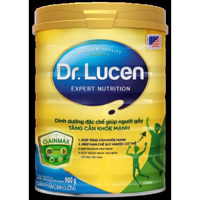Sữa DR. LUCEN GAINMAX 900g GIÚP NGƯỜI GẦY TĂNG CÂN KHỎE MẠNH