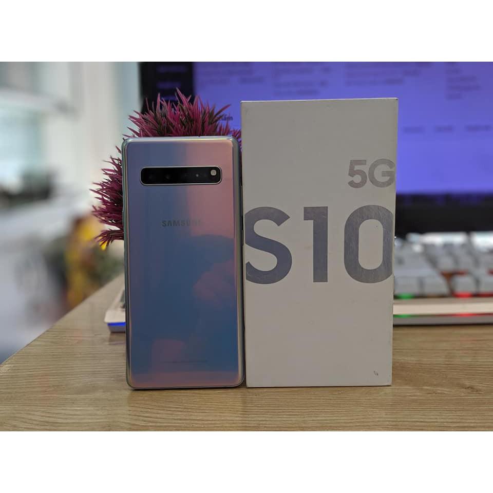 Điện Thoại Samsung Galaxy S10 5G Mỹ /Hàn Pin Khủng || 4 Camera cực sắc nét , Màn hình rộng || Mua hàng tại PlayMobile