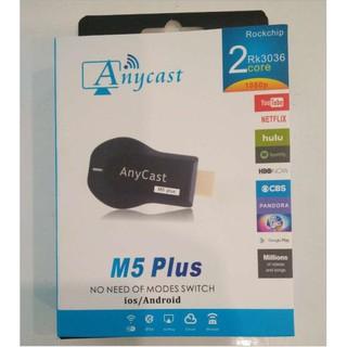 HDMI không dây Anycast M5 Plus   CHip xử lý thế hệ mới nhất 2018