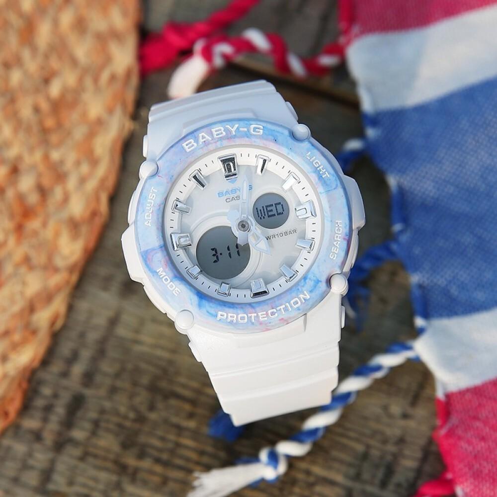 Đồng hồ nữ dây nhựa Casio Baby-G chính hãng Anh Khuê BGA-270M-7ADR