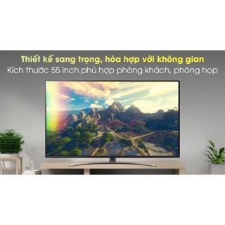Smart tivi Nanocell LG 4K 55inch 55NANO81TNA . Mới 2020(Hàng New Nguyên seal Bảo hành chính hãng 2 năm)