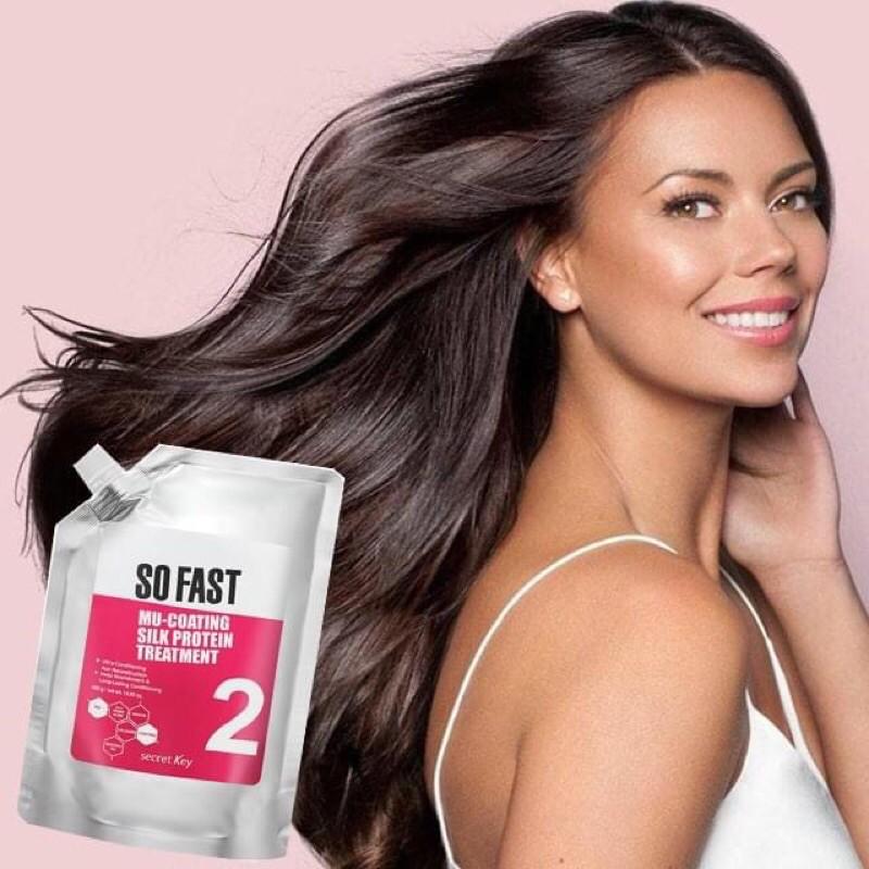 Kem ủ tóc Secret Key So Fast Mu-Coating Silk Protein Treatment