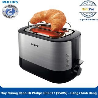 Máy Nướng Bánh Mì Philips HD2637 (950W) – Hàng Chính Hãng – Bảo Hành 2 Năm Trên Toàn Quốc