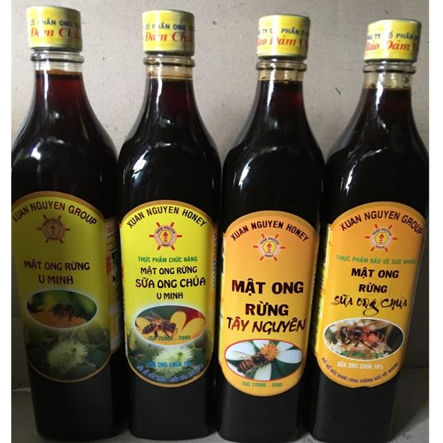 Mật Ong Xuân Nguyên (mật ong rừng U Minh, mật ong sữa ong chúa U Minh, mật ong rừng Tây Nguyên,mật ong rừng sữa ong chúa