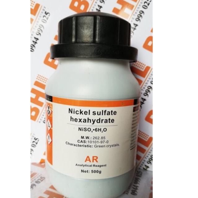 Hoá chất Nikel sulfate niken sunphat NiSO4 Xylong túi 100g