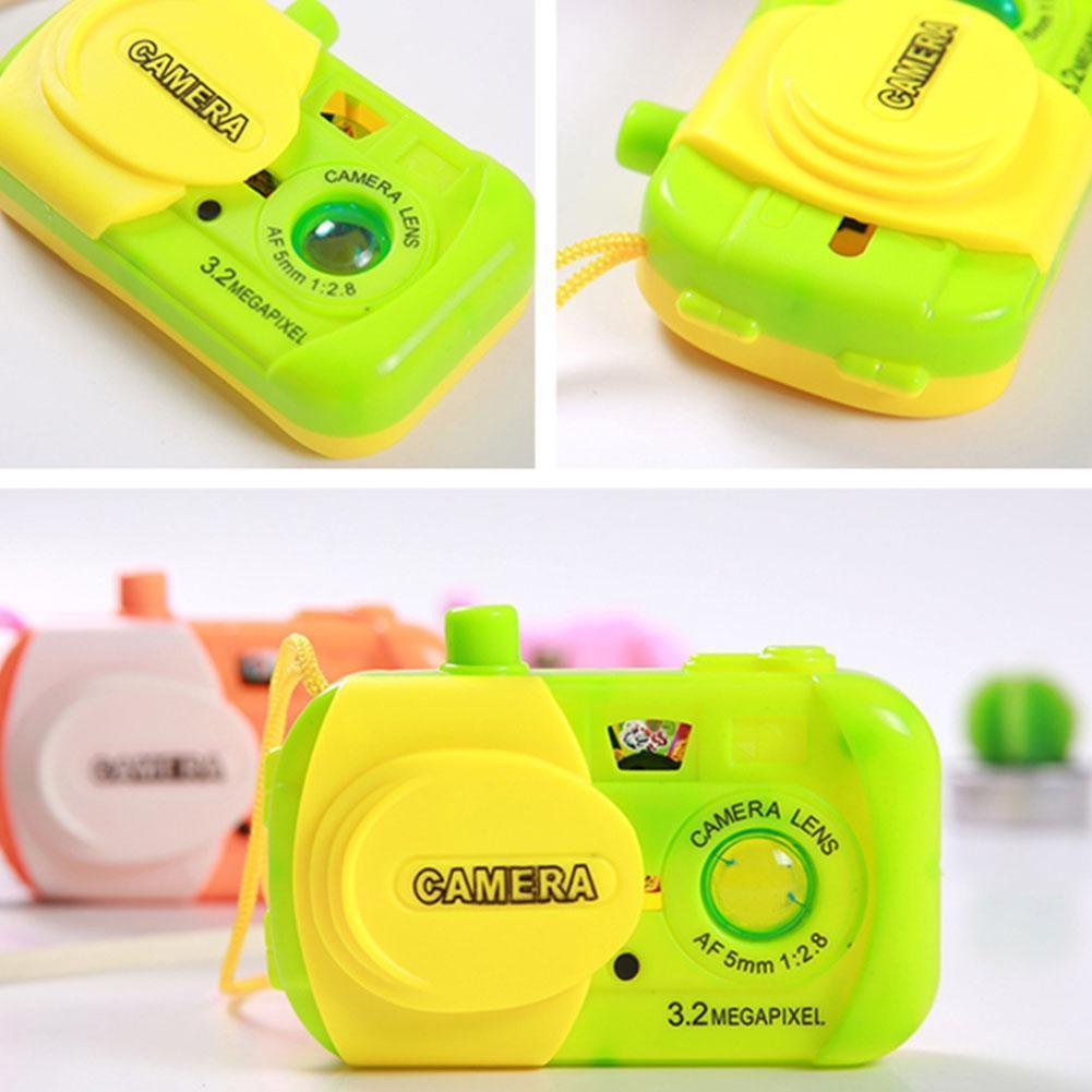 New Projection Camera Kids Toy Animal Patterns Simulation Gifts Camera Digital A4X4
