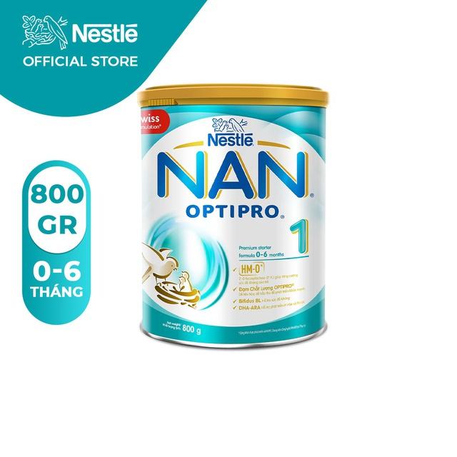 Sữa Bột Nestle NAN OPTIPRO 1 – Hộp 800gram - HMO