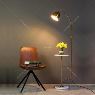 Đèn cây , đèn đọc sách, trang trí decor sofa hiện đại HTDC-02, bảo hành 2 năm