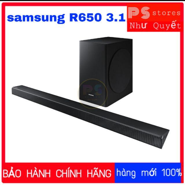 Loa soundbar samsung R650 340W mới 100%