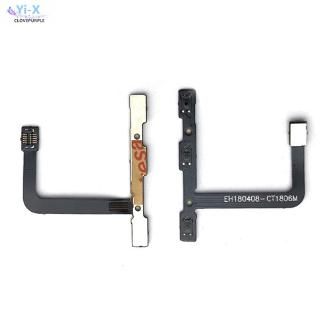 Power On/Off Key Volume Up Down Side Button Flex Cable For Huawei P20