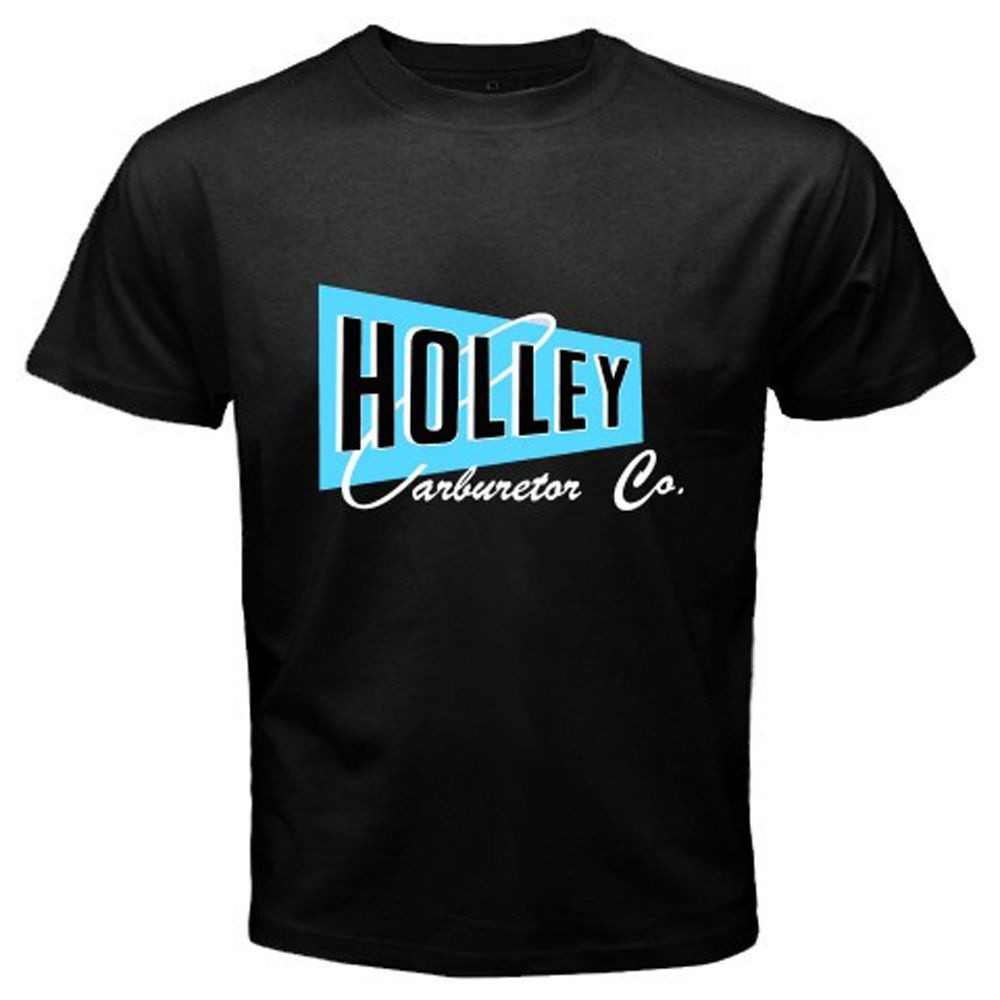 New Holley Carburetor Co. Logo Speed Equipment Hot Rod Mens Father's Men'T-Shirt