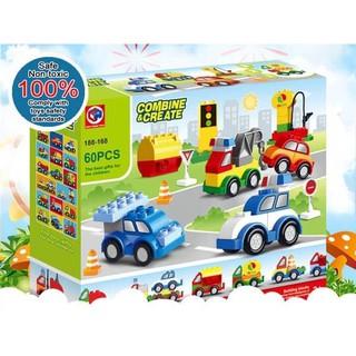 Kids home toys 188-168 lắp ráp ô tô cho bé
