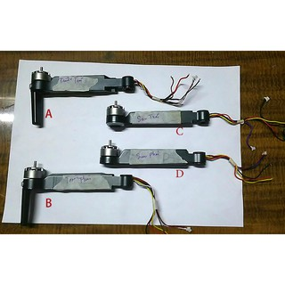 4 Tay kèm động cơ – SJRC F11/F11 Pro