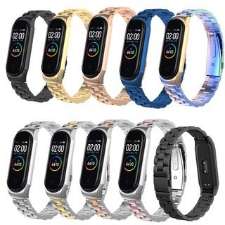 mi band 4 for Xiaomi Mi Band 4 Stainless steel watchStrap for Xiaomi Mi Band 3 Smart bracelet Metal bracelet Accessoriess Metal Case thumbnail