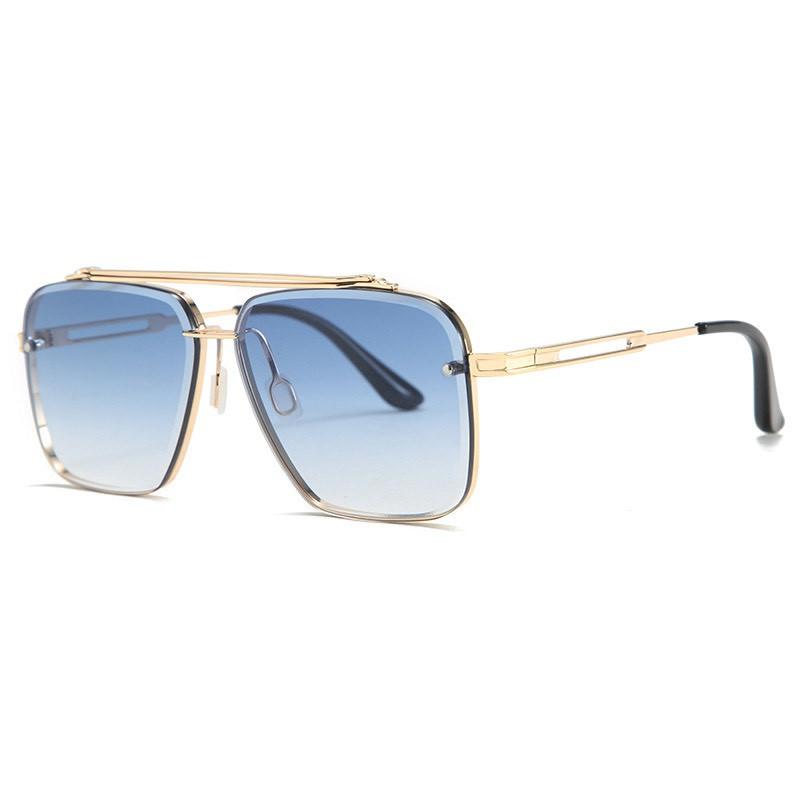 Kính mát nam TISSELLY M12 kính phi công kính râm lái xe thời trang gọng họp kim thép