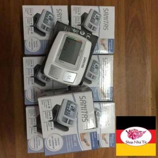 Máy đo huyết áp và nhịp tim Sanitas nhỏ gọn, rất dễ sử dụng. (hàng nội địa Đức) thumbnail