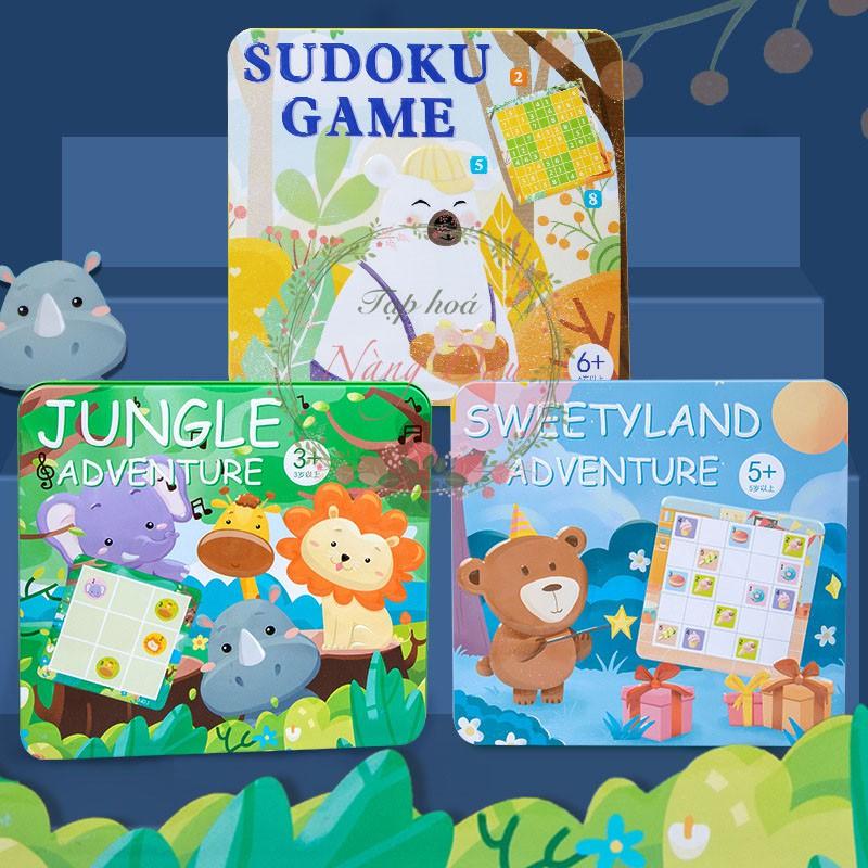 Trò Chơi Ô Chữ Trí Tuệ Sudoku Cho Bé từ 3 Tuổi trở lên