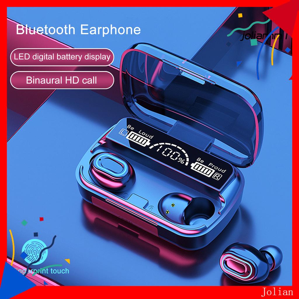Tai Nghe Nhét Tai Không Dây Bluetooth 5.1 M-1 Điện Thoại
