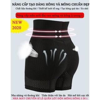 Quần độn mông thoáng khí Spring Thái Lan – Quần định hình nâng mông eo thon nịt bụng cao cấp