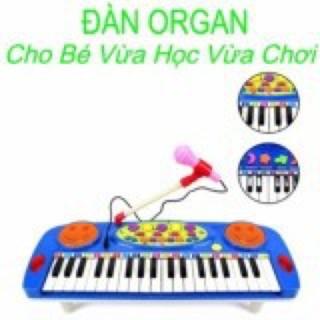 Đàn Organ điện tử kèm Micro cho bé thông minh(dùng pin) | Có Sẵn