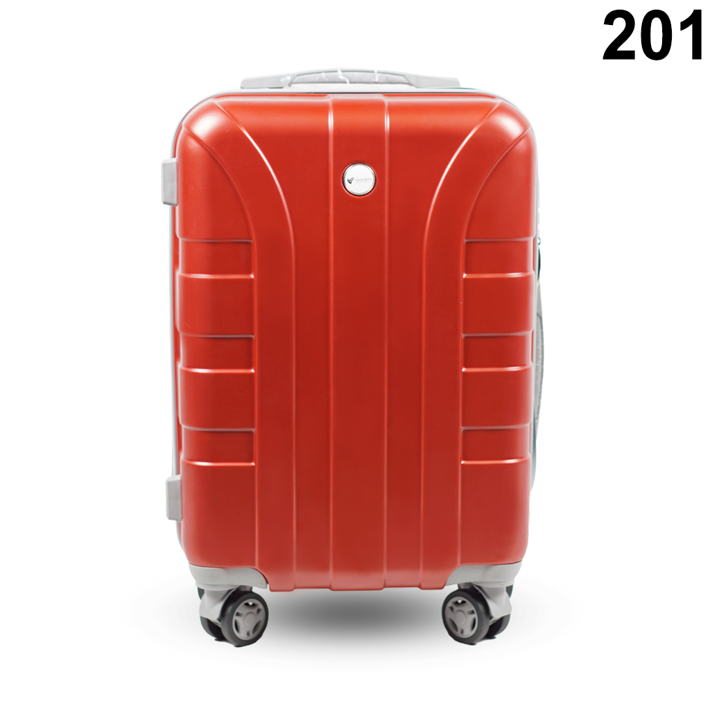 Vali kéo nhựa du lịch 201 nhựa ABS dày có khả năng chịu lực trên 70kg