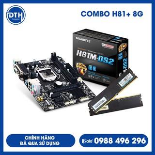 COMBO MAIN CHIP H81 + Ram DDR3 / Chính hãng đã qua sử dụng