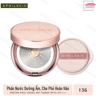 Phấn Nước Che Phủ Hoàn Hảo, Cho Làn Da Mịn Màng AprilSkin Magic Essence Mist Cushion SPF50+/PA++++ 13g - HAFA STORE