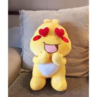 Gấu Bông Sticker Qoobee Thần Thánh Hàng Nhập Cao Cấp Size 50cm Siêu to , dễ thương