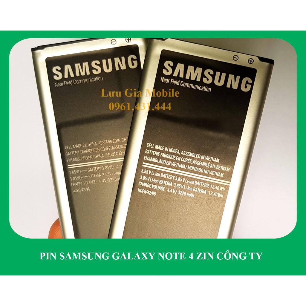 Pin Samsung Galaxy Note 4 công ty N910 | Note 4 2 Sim N9100 | Note 4 Edge N915