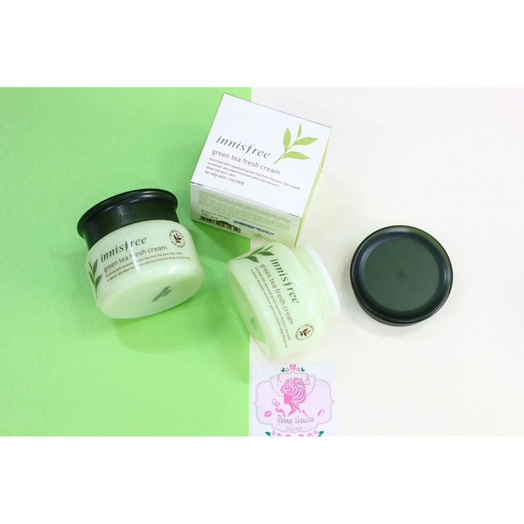 Kem dưỡng trà xanh Green Tea Fresh Cream Innisfree