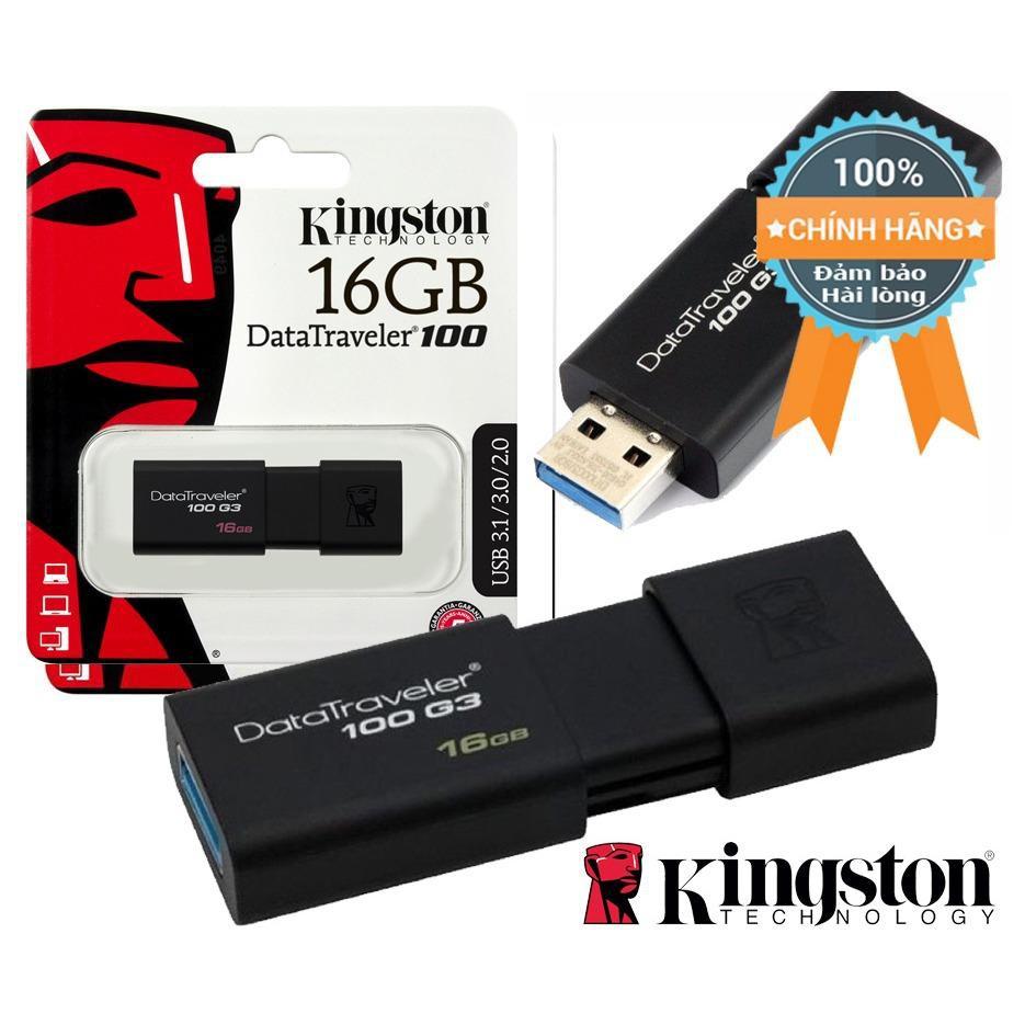 USB Kingston DT100G3 USB 3.0 16GB(chính hãng) - 2719740 , 1265427465 , 322_1265427465 , 97000 , USB-Kingston-DT100G3-USB-3.0-16GBchinh-hang-322_1265427465 , shopee.vn , USB Kingston DT100G3 USB 3.0 16GB(chính hãng)