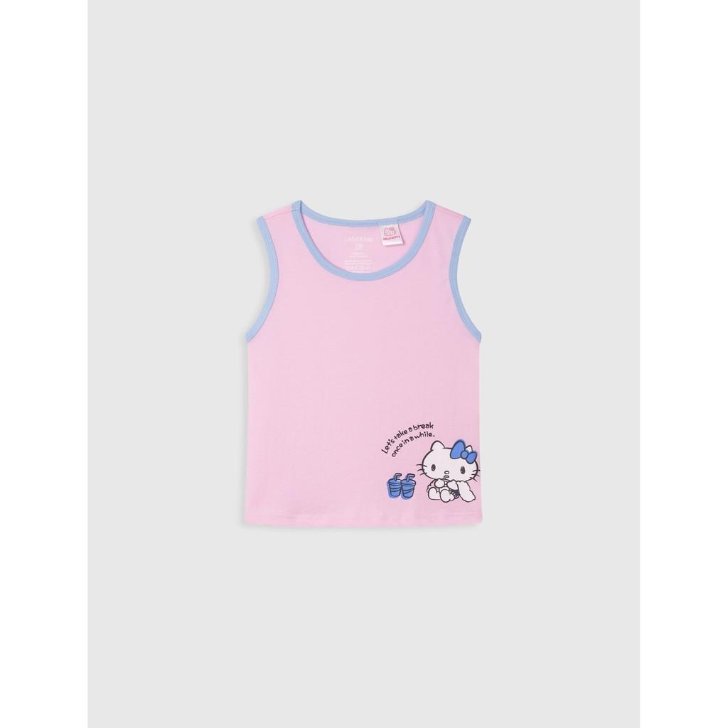 Áo mặc nhà bé gái Hellp Kitty 1LT19S001 Canifa