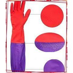 (Rẻ Mà Chất) Sản phẩm Găng tay cao su lót nỉ – Găng tay rửa bát