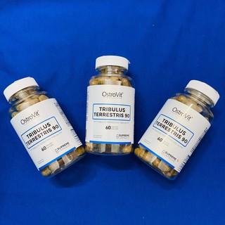 Thực Phẩm Bổ Sung Hỗ Trợ Tăng Testosterone Nam, Tăng Tổng Hợp Protein và Tăng Ham Muốn Ostrovit Tribulus Terrestris 90
