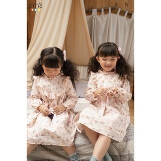 Váy bé gái hồng baby EM'S